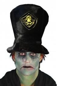 Cappello cilindro uomo becchino adulto taglia standard