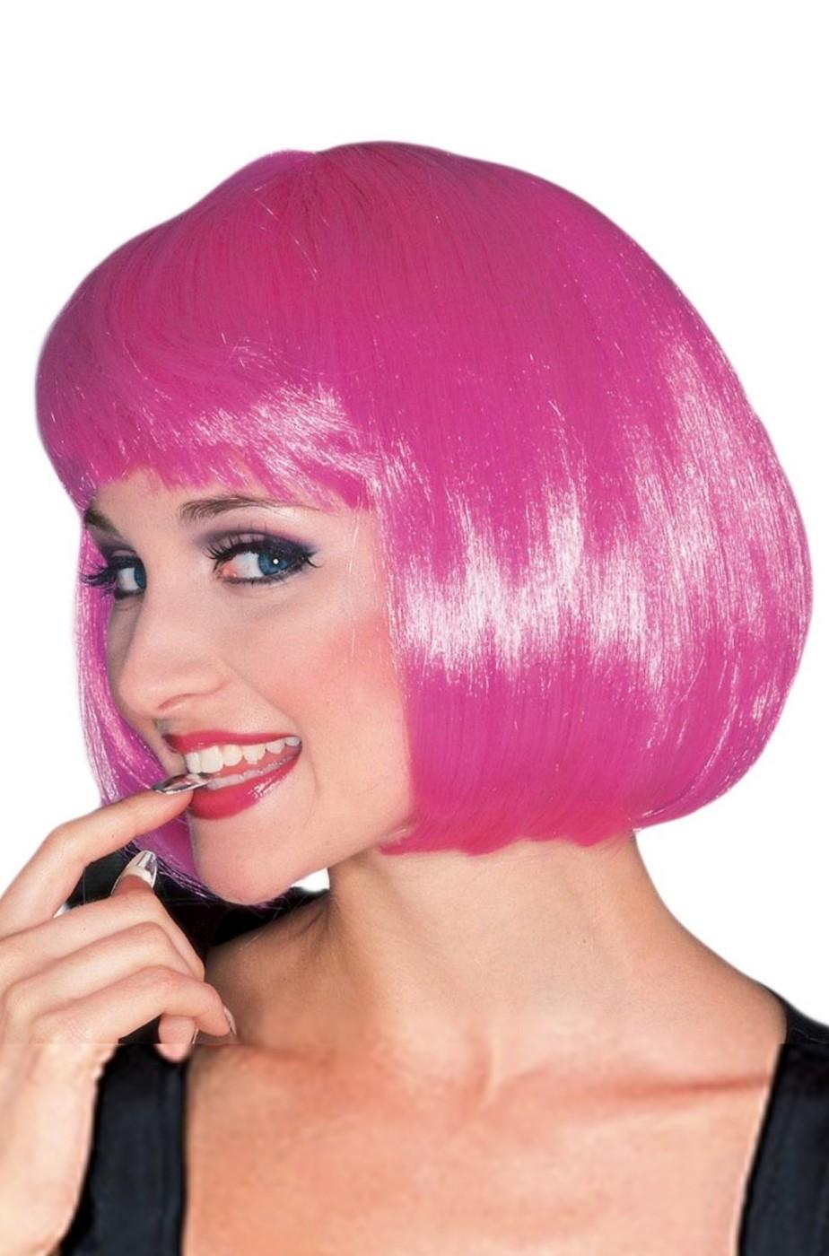 parrucca di carnevale da adulto per donna a caschetto anni ...