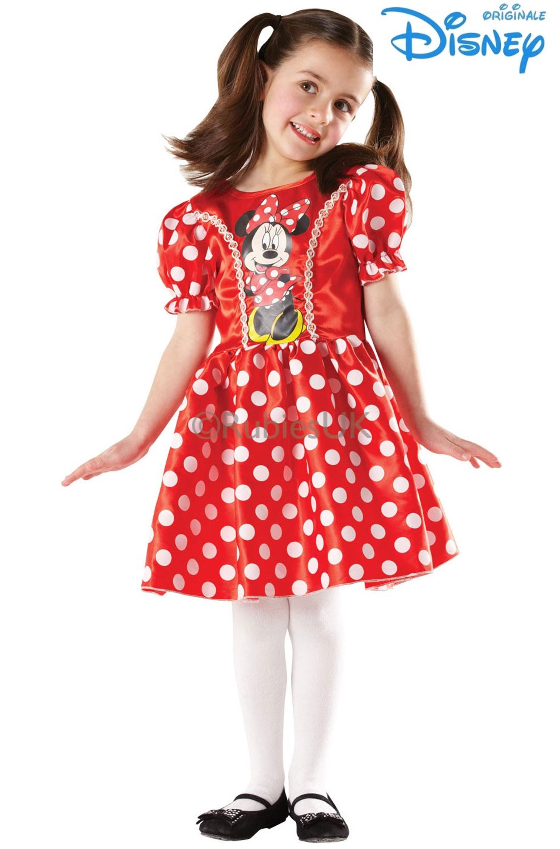 buon servizio grande varietà rilasciare informazioni su Costume carnevale bambina Minnie Mouse