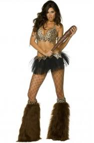 Costume Primitiva Aborigena Cavernicola adulta Jane