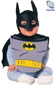 Costume carnevale Bambino Batman bavaglio e mantello con maschera