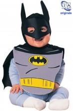 Costume carnevale Bambino Batman bavaglio+mantello con maschera