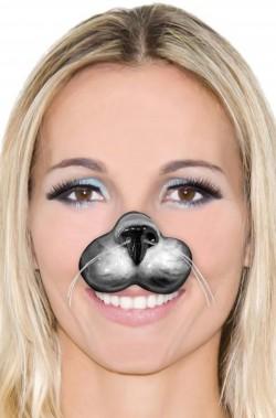 Naso finto gatto in plastica