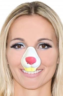 Naso finto coniglio in plastica