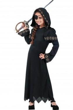 Costume carnevale Bambino Pirata gotico della morte