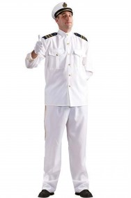 Costume Adulto Capitano di Marina