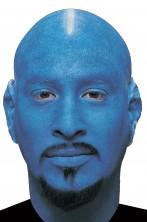 Parrucca unisex pelata uomo calvo blu