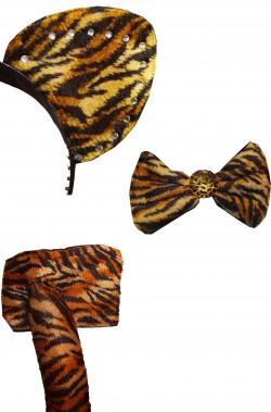 set costume da animale da leopardo