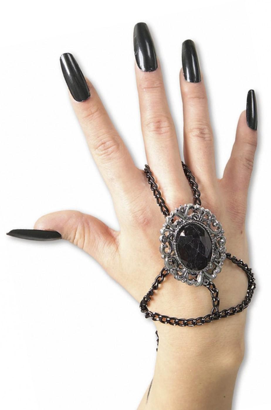 bracciale vampira dark gotica burlesque 800
