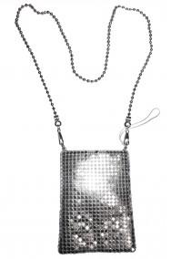 Borsa o borsetta argento anni 20, charleston, flapper