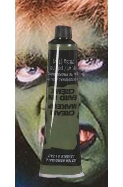 trucco teatrale tubetto aqua color 28ml verde marcio zombie frankenstein