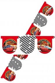 Festone decorativo Cars Saetta McQueen ed i suoi amici