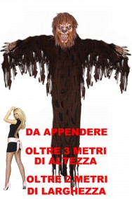 Decorazione Halloween da appendere grande enorme lupo mannaro