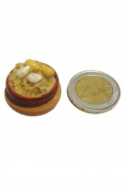 Accessori presepe: tegame con uova