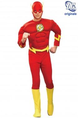 Costume Flash con muscoli