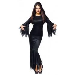 Costume Madame Morticia o Malefizia SOLO COSTUME