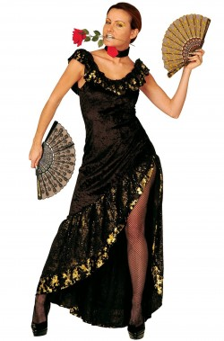 Costume donna spagnola o messicana