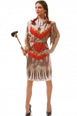 Costume donna Indiana Pocahontas