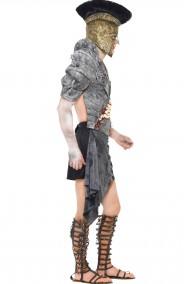 Costume uomo romano zombie