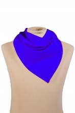 Fazzoletto foulard per cowboy o banditi blu