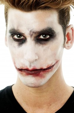 FX Trucco In Lattice ferite cicatrici del joker, killer clown, IT