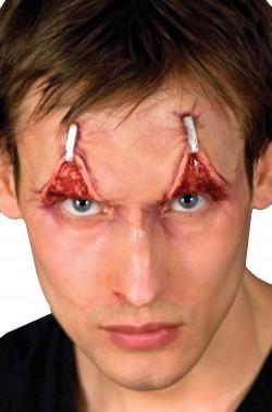 FX Trucco In Lattice Viso sopracciglia rivoltate occhi sempre aperti