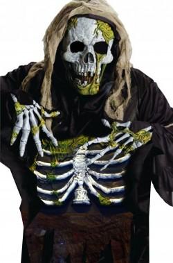 Costume set da zombie halloween scheletro