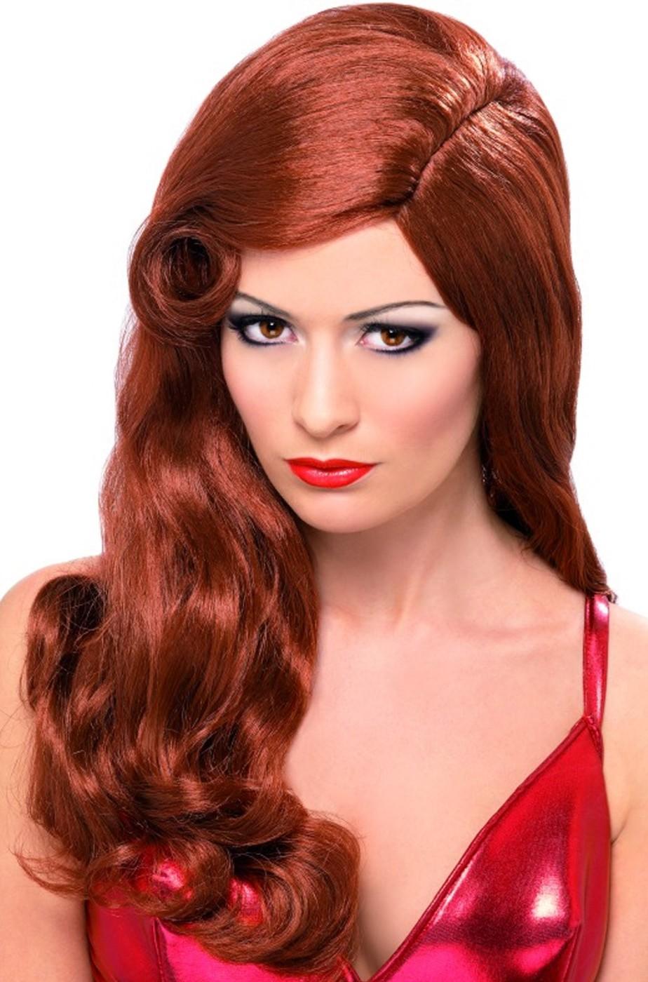 Parrucca Rossa Per Jessica Rabbit