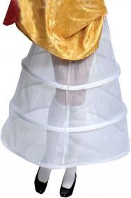 Sottogonna con cerchio per abiti 700 o storici crinolina