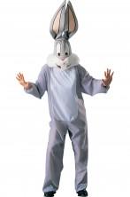 Costume mascotte Bugs Bunny a viso coperto