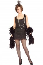 Costume donna sexy anni 20 Charleston Flapper.