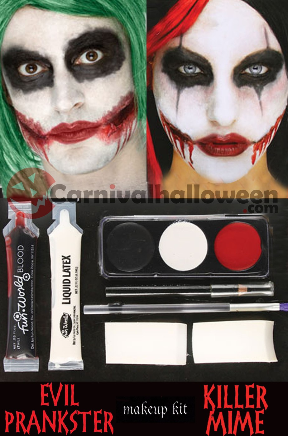 Kit Trucco Joker o IT Pennywise