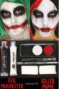 Kit Trucco Joker, IT Pennywise o Harley Quinn