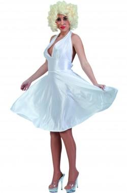 Costume Marilyn Monroe con parrucca inclusa