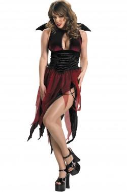 Costume vampira pistrello o strega