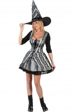 Costume adulta strega della notte