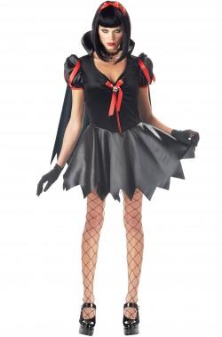 Vestito Halloween donna Biancaneve horror