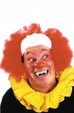 Parrucca unisex rossa clown