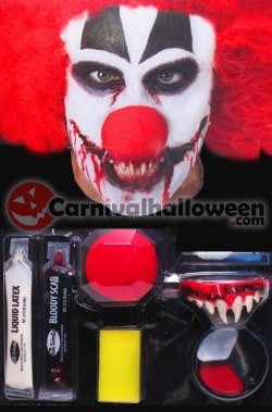 Clown Horror Assortimento Kit trucco Killer Clown IT Pennywise