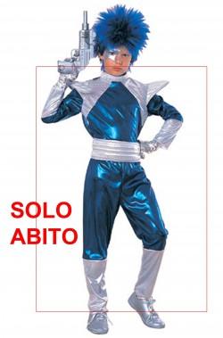 Costume Invasore Spaziale Bambino NON INCLUDE pistola e parrucca