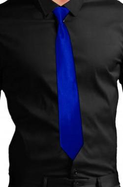 Cravatta fluo neon gangster blu