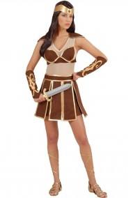 Costume donna amazzone o gladiatrice romana