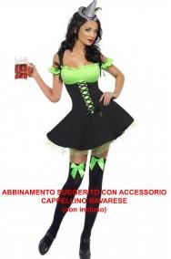 Costume donna strega Sexy, Elfa, Peter Pan Tirolese
