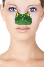 Naso finto animale da rana o rospo Kermit dei Muppet