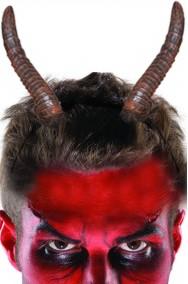Corna da muflone, bestia o diavolo grandi ritorte cm 22