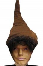Cappello nano o gnomo o elfo marrone