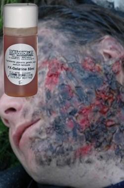 FX Gelatina per ustioni o zombie 50ml