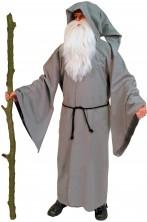 Costume uomo druido Utile per fare Gandalf (celtico)