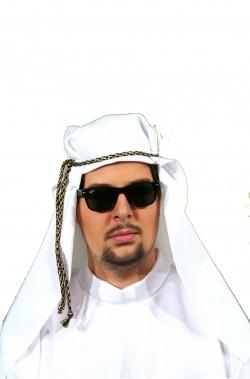 Cappello da arabo bianco