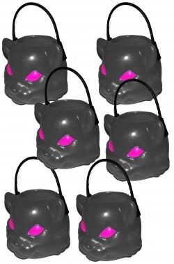 Coppetta Porta dolcetti segnaposto Halloween mini 4cm gatto nero